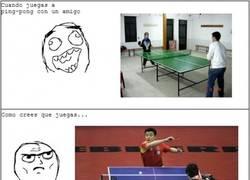 Enlace a Cuando juegas a ping pong...