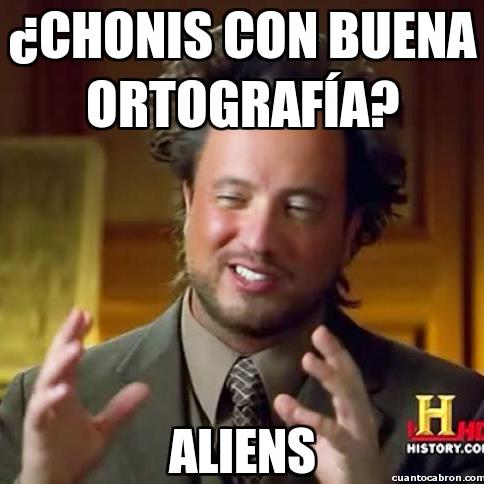 Ancient_aliens - Las chonis y sus códigos escritos