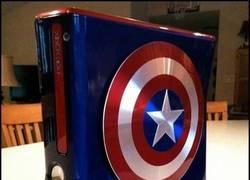 Enlace a Xbox Capitán América, creo que alguien la quiere más que los demás