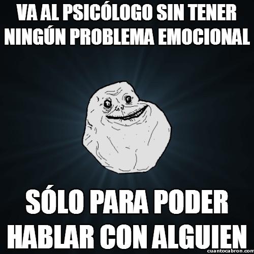 Meme_forever_alone - El Psicólogo de Forever Alone