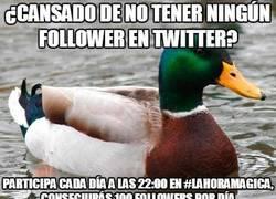 Enlace a ¿Cansado de no tener ningun seguidor en Twitter?