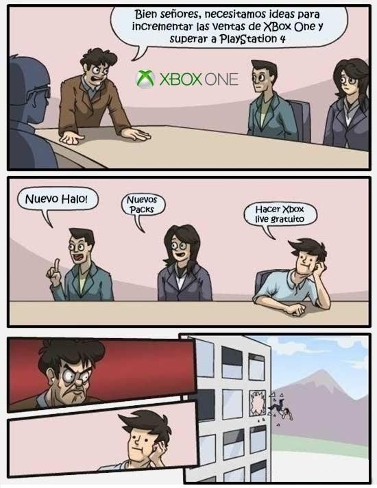 Otros - Incrementar las ventas de Xbox ONe