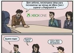 Enlace a Incrementar las ventas de Xbox ONe