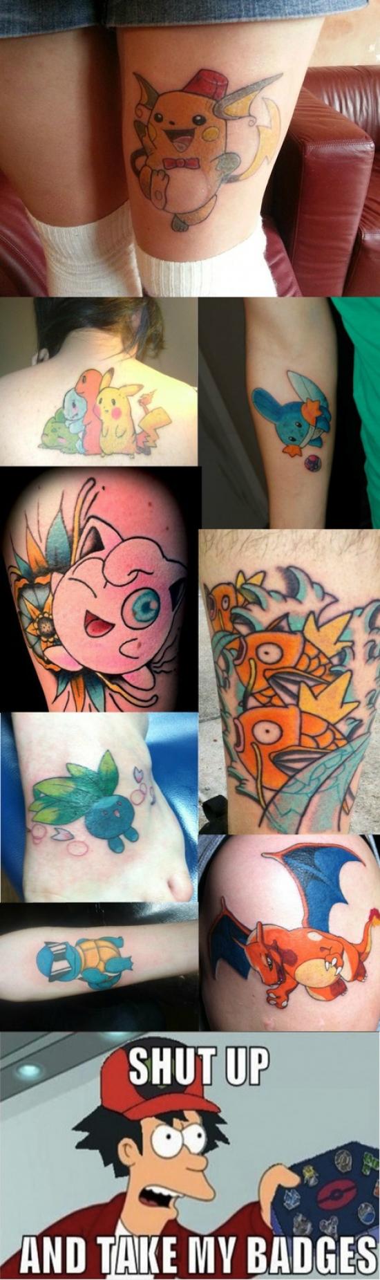 Fry - Tatuajes Pokémon
