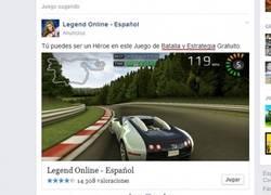 Enlace a Facebook y su cuidadosa selección de imágenes para sus anuncios