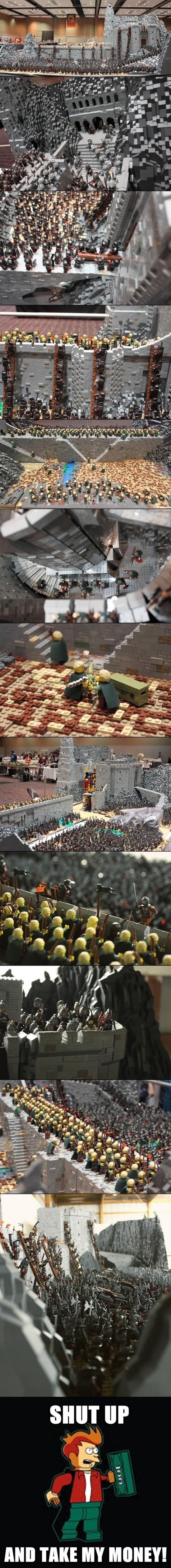 Fry - Recreaciones en Lego que rozan lo increíble