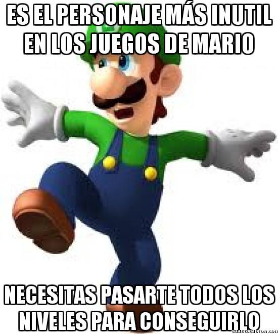 Meme_otros - No sé si tanto esfuerzo tiene la recompensa adecuada en los juegos de Super Mario