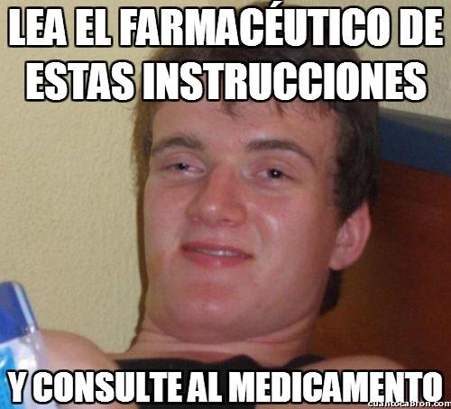 Colega_fumado - ¿Y si lo contratasen para hacer el anuncio de los medicamentos?