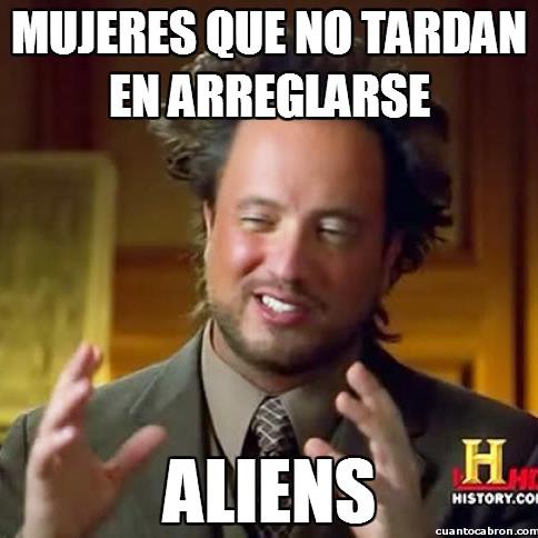 Ancient_aliens - ¿Mujeres rápidas?