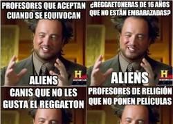 Enlace a Ya tiene hartos a los pobres aliens