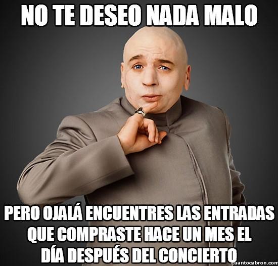 Meme_otros - ¡No encuentro las entradas del concierto!