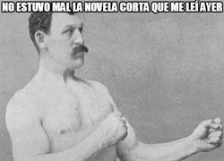 Enlace a Interesante novela corta para Overly Manly Man