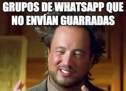 Enlace a ¿Qué es lo que nunca falta en todos los grupos de Whatsapp?