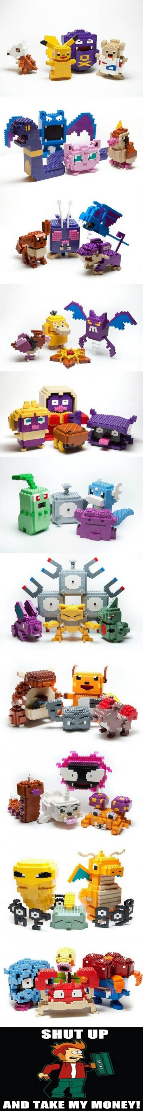 construcción,construir,figuras,fry,increibles,Lego,legos,pokemon