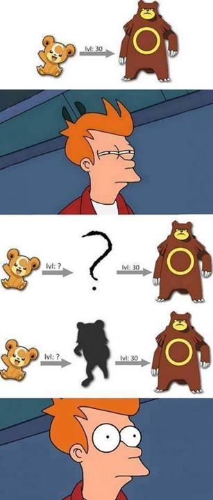 Fry - Fry se ha dado cuenta de que faltaba algo en esta evolución