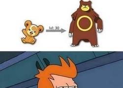Enlace a Fry se ha dado cuenta de que faltaba algo en esta evolución