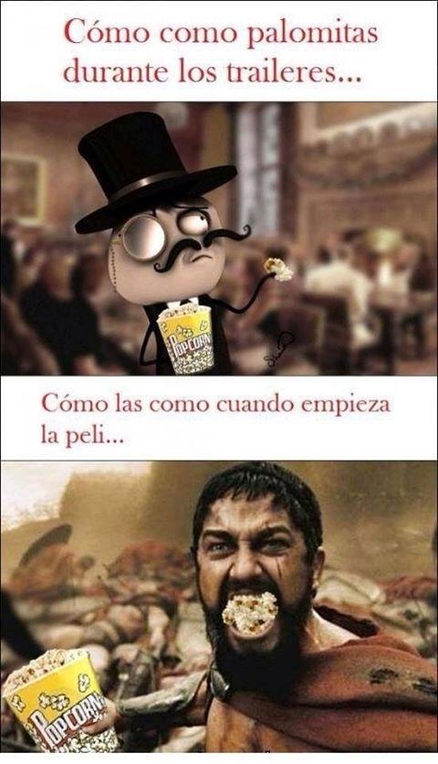 Feel_like_a_sir - Comiendo palomitas