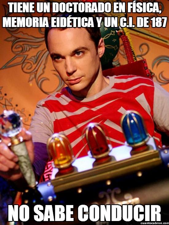 Meme_otros - Sheldon Cooper y su debilidad