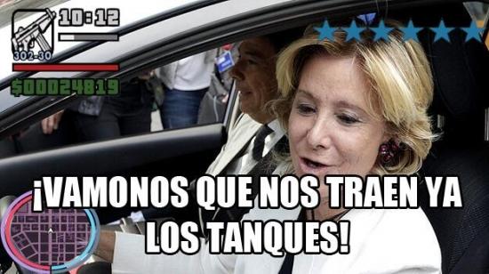 Meme_otros - ¡Espe, que vienen los tanques!