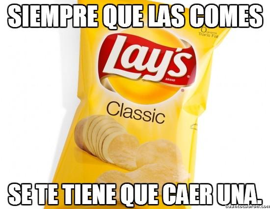 Meme_otros - Así es la ley de las patatas fritas