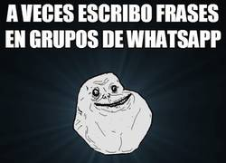 Enlace a Forever alone, nivel: máximo