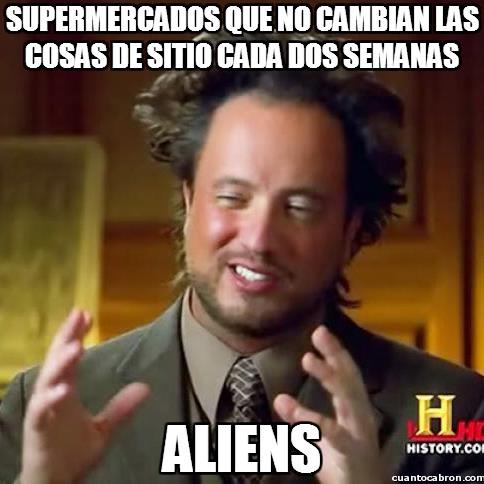Ancient_aliens - Supermercados y su manía de marear a los clientes