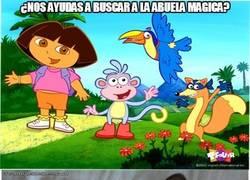 Enlace a Igual no estás preguntando al más indicado, Dora