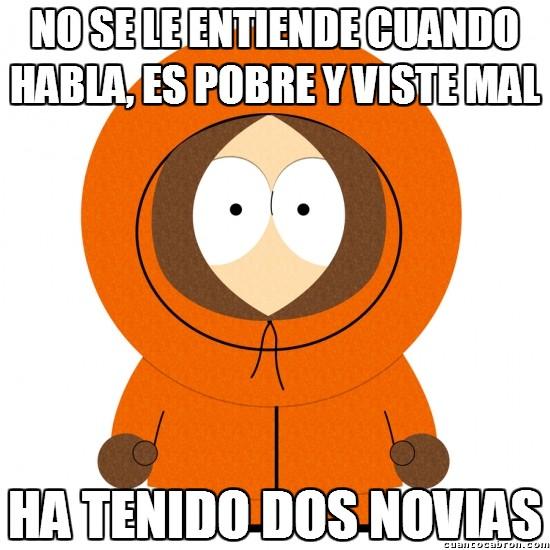 Meme_otros - Kenny de South Park, el latin-lover
