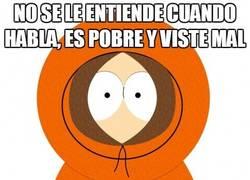 Enlace a Kenny de South Park, el latin-lover