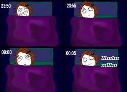 Enlace a Ese momento incómodo cuando te estás a punto de dormir