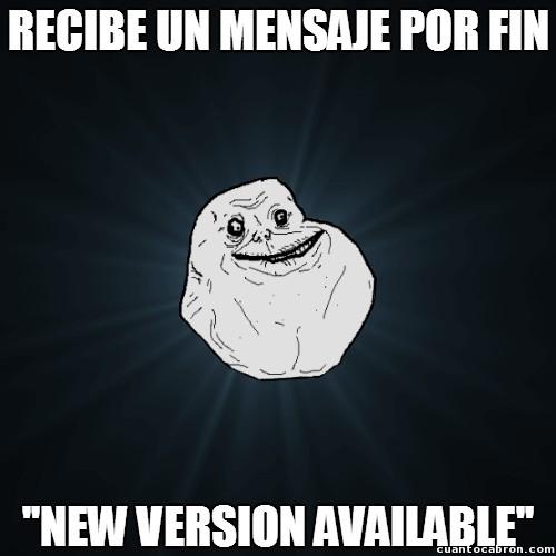 Meme_forever_alone - Forever alone en Whatsapp