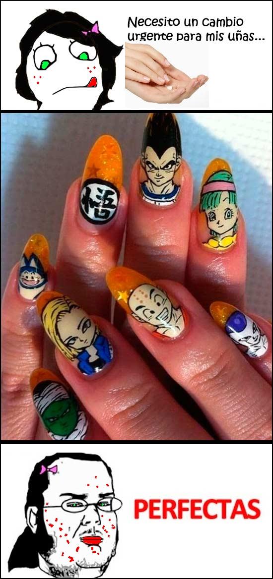 Friki - Las uñas perfectas para una friki
