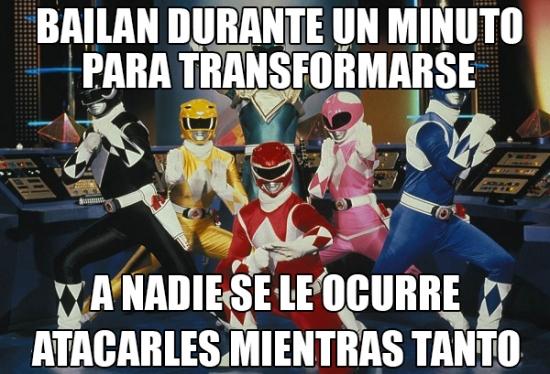 Meme_otros - La mayor incoherencia de los Power Rangers