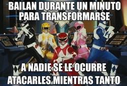 Enlace a La mayor incoherencia de los Power Rangers