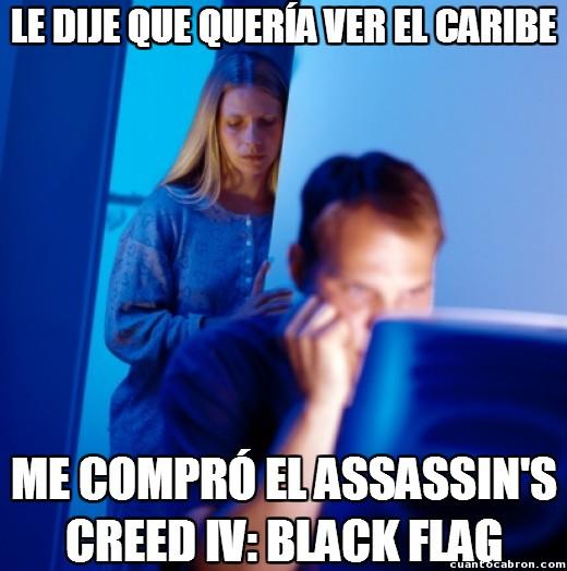 Marido_internet - ¡Jo cari, yo quiero ver el Caribe!