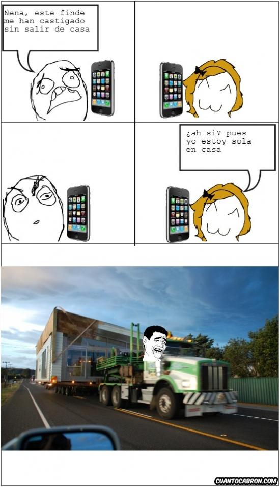 Yao - Cuando estás sola en casa, nada es imposible para tu novio