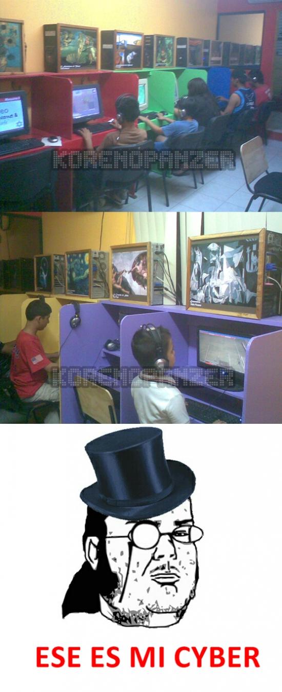 Friki - El cyber-café más artístico de todos