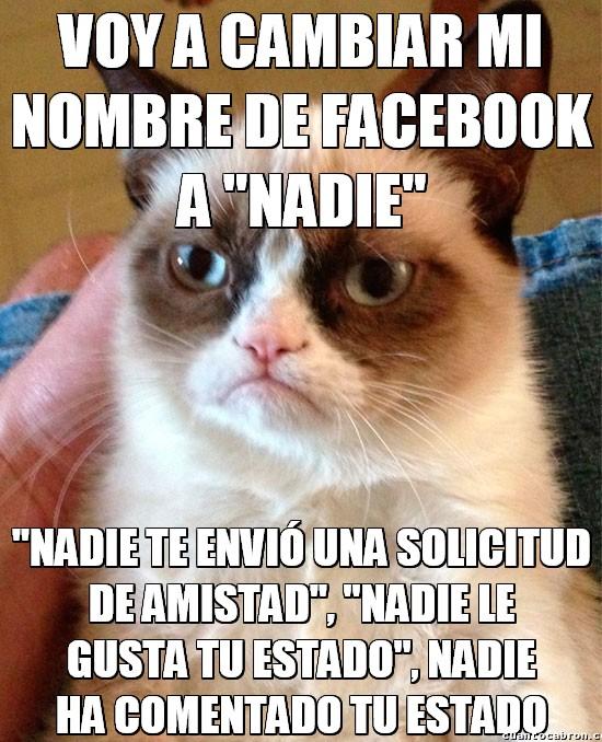 Grumpy_cat - ¿Quieres trolear a todos tus amigos en facebook? HAZ ESTO. BRUTAL