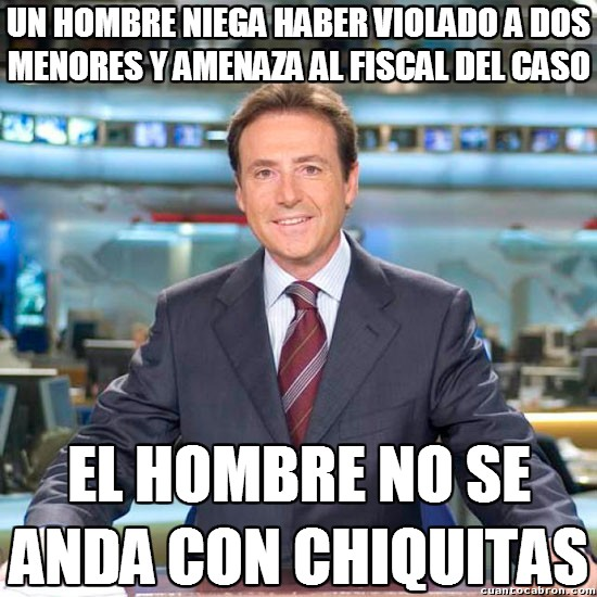 Meme_matias - Sólo Matías sabe dar las noticias así