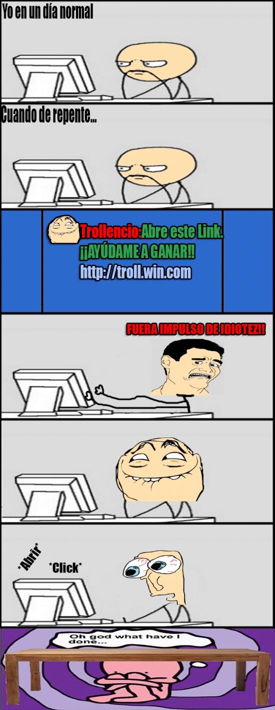 Oh_god_what_have_i_done - Nunca te fíes de los links que te envían tus amigos