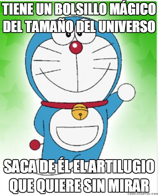 Meme_otros - La increíble habilidad de Doraemon