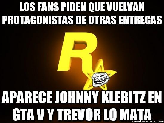 Meme_otros - Rockstar y sus trolleos