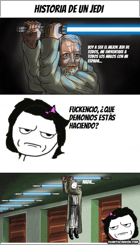 Kidding_me - Historia de un Jedi