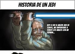 Enlace a Historia de un Jedi