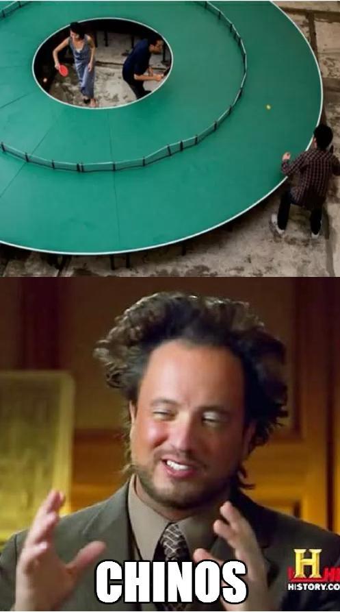 Ancient_aliens - Los chinos y el tenis de mesa