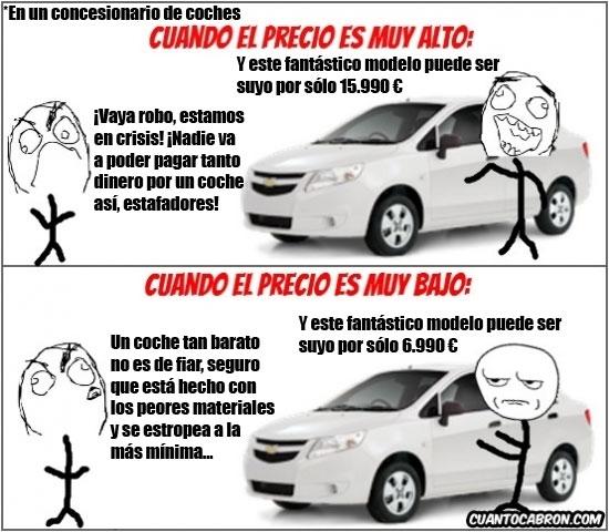 Kidding_me - Comprando un coche. NUNCA estaremos conformes con el precio