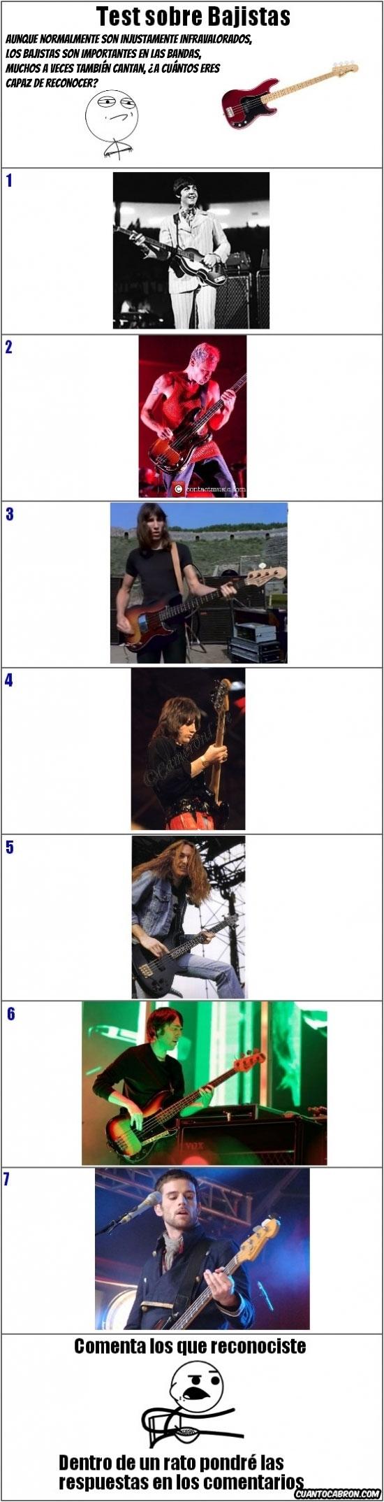 Otros - Los bajistas también se merecen un reconocimiento, ¿pero alguien los reconoce a todos?