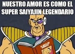 Enlace a El super Saiyajin legendario