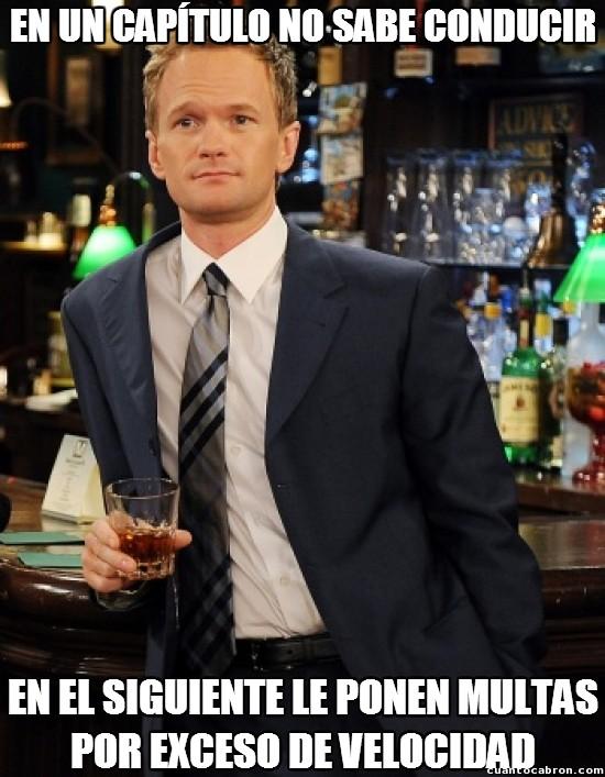 Meme_otros - Barney Stinson aprende muy rápido