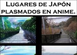 Enlace a Lugares de Japón en anime, ¿ves las diferencias?